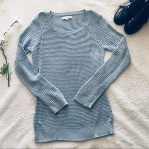 $5 W/ BUNDLE Loft Blue Marled Sweater
